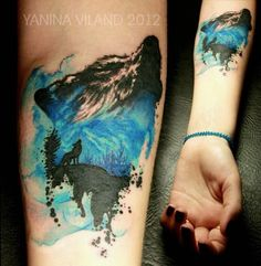 really nice watercolour look, also cool concept - Yanina Viland