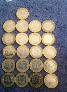 Richard Michael Harris‎ September 27 2014.  My collection of £2 coins, I have 21 different 'specials'