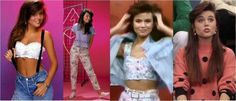 Kelly Kapowski style - Saved by the Bell