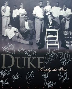 Duke Basketball 1992-93