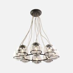 living room  Orbit Chandelier Light Fixture   Schoolhouse Electric & Supply Co.