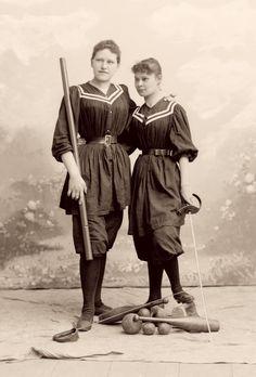 Sportswear, 1890..