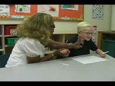 Handwriting Lesson: Improving Posture & Paper Skills - has video tutorials