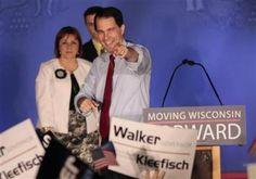 Wisconsin recall, wisconsin's Walker makes history surviving recall election