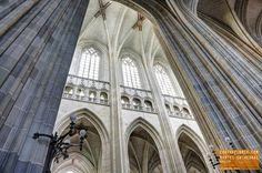 Inside the Magnificent Nantes Cathedral - France