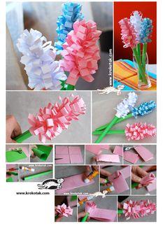 Paper Hyacinths! Such a fun craft!