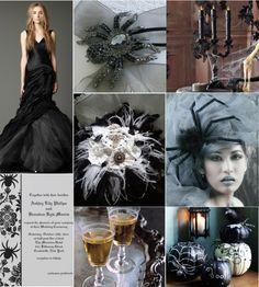 Wedding Wednesday: A Spooky Yet Elegant Halloween Wedding Theme