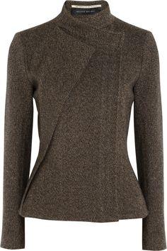 Roland Mouret ~Tulkinghorn herringbone tweed jacket
