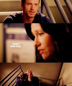 """""""I don't hate you."""" Mark Sloan and Lexie Grey, Grey's Anatomy quotes"""