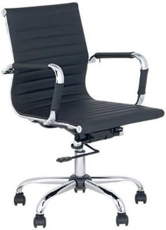 office chair computer rooms black