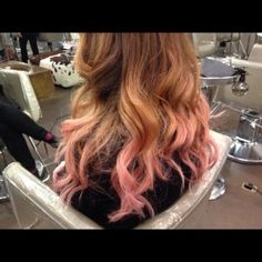 Rose Gold Hair Want This