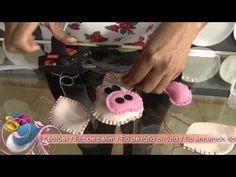 ▶ Faça um lindo imã de geladeira em feltro! - YouTube