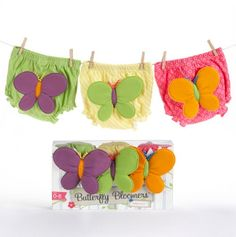 Butterfly Bloomers For Babies 0 to 6 months.