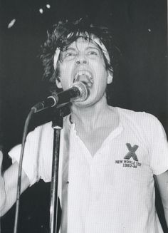 Keith Morris of the Circle Jerks, 1984