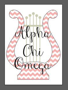Alpha Chi Omega Sorority Digital Print by CollegePrintDesign on Etsy, $10.00.  https://www.etsy.com/listing/151869146/sorority-digital-print?ref=shop_home_active