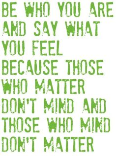 dr. seuss quote, love this one.