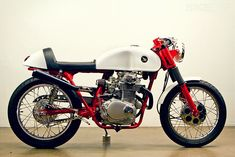 1972 honda cl350 cafe. lossa engineering.