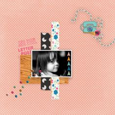 www.pixelscrapper.com Layout is made with the Hello blog train bundle from May 2014.