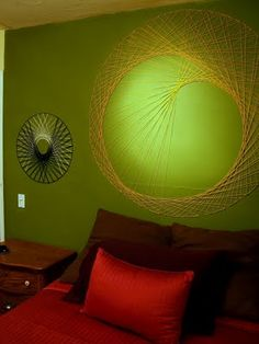 How to string wall art