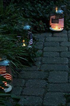 4th of July hurricane jars