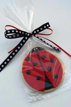 lady bug cookie