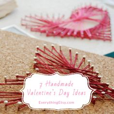 7 Handmade Valentine's Day Ideas - Simpl & Sweet!!  EverythingEtsy.com