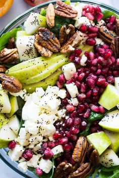 Pear & Pomegranate S