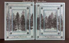 CTMH Triple Christmas Card - Close To My Heart -Second generation stampi...