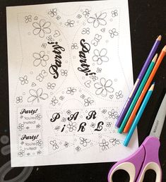 Printable doll party invitations