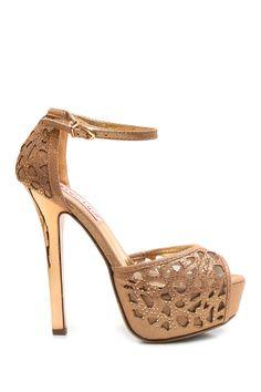 Sculpt Ankle Strap Heel
