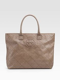 Tory Burch bag - love the neutral color - goes with anything!