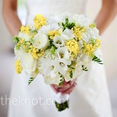 Found on Weddingbee.com Share your inspiration today! white flowers, bridal bouquets, wedding bouquets, the bride, bouquet wedding, white weddings, white bouquets, wedding planners, bouquet flowers