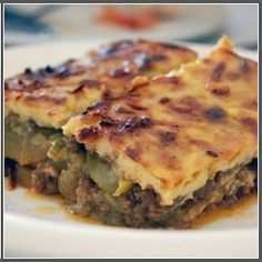 moussaka - the national dish of greece