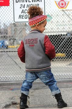 If I ever had a daughther she gonna be dressed something like this style so cute