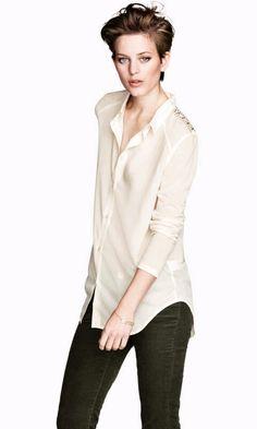 Chifon blouse - H