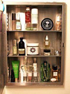 Makeup Artist Suzy Gerstein's skincare-essentials medicine cabinet