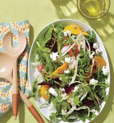 Roasted Beet and Goat Cheese Salad