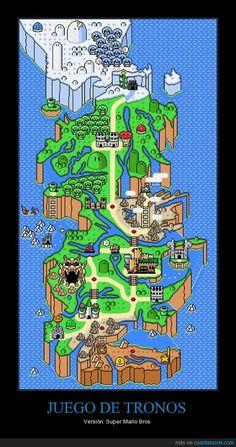JUEGO DE TRONOS - Versión: Super Mario Bros