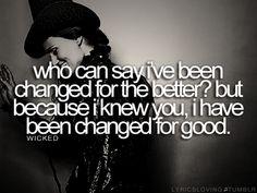 I love wicked!