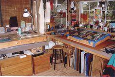 Small yet efficient studio.