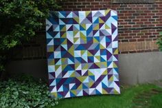 Half Square Triangle Love by Katie Pedersen feature on the MQG blog