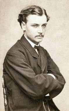 Robert Todd Lincoln, c. 1865. Abraham and Mary's first son, future Secretary of War