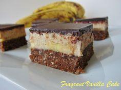 Raw Banana Coconut Nanaimo Bars - Vegan