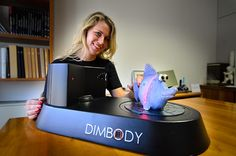 3ders.org - DIMBODY 3D desktop scanner   3D Printer News & 3D Printing News