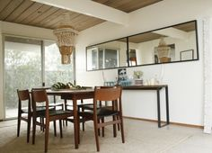 Eclectic Dining Room ~ Eichler Dining Room