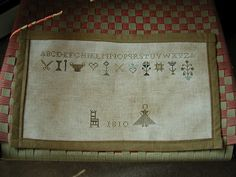 Pennsylvania Stitcher's Sampler by Chartmakers ~ I want this pattern so badly!!