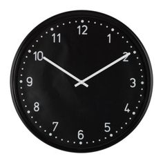 purchased // clock for kitchen.