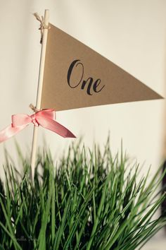 Pennant Table Numbers