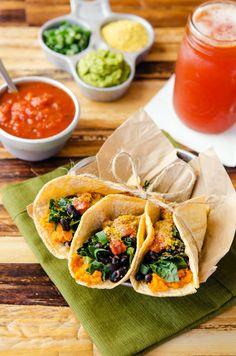 Breakfast Tacos from Happy Herbivore Light & Lean breakfast taco