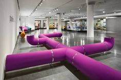 Pipeline Seating by Harry Allen for Dune